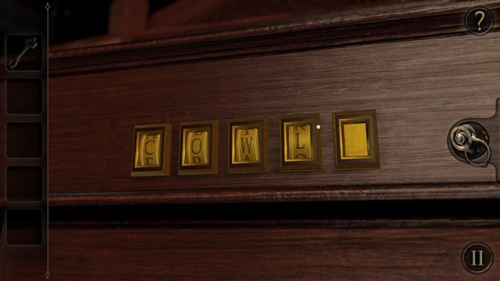 The Room Switch - code à déchiffrer et lettre manquante