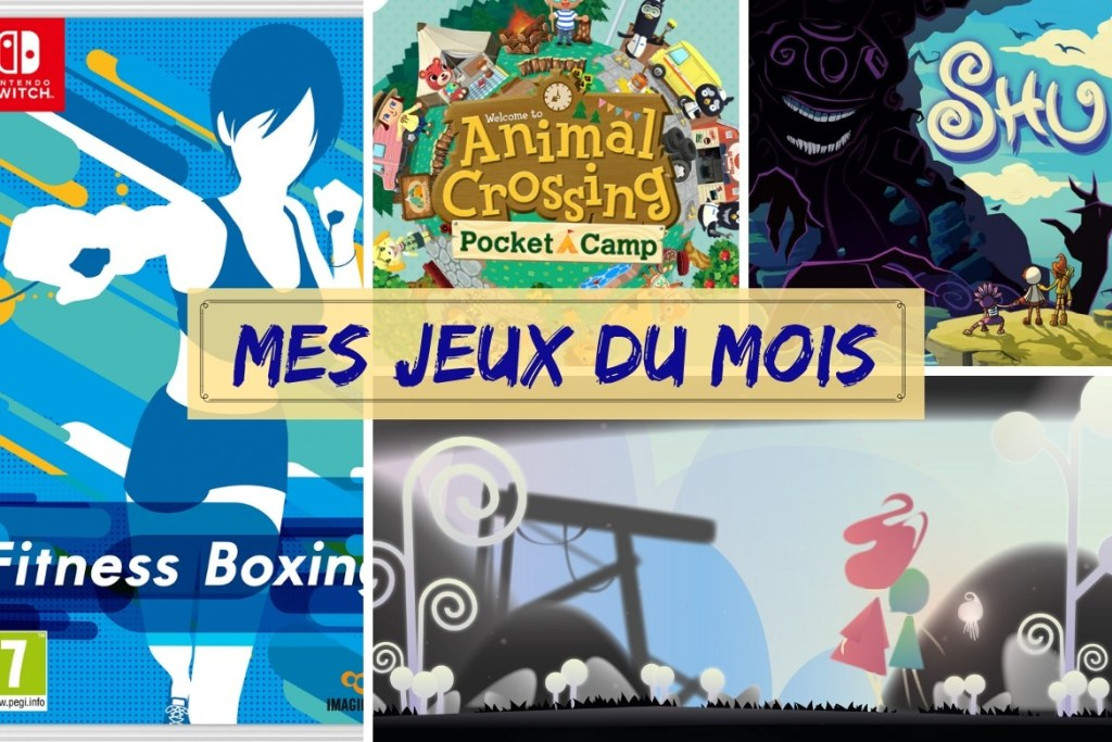 Bilan jeux janvier 2019