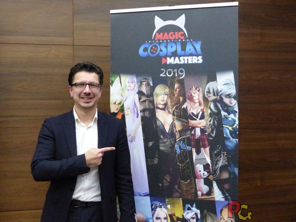 Conférence de presse 5ème MAGIC - Cedric Biscay et le MICM
