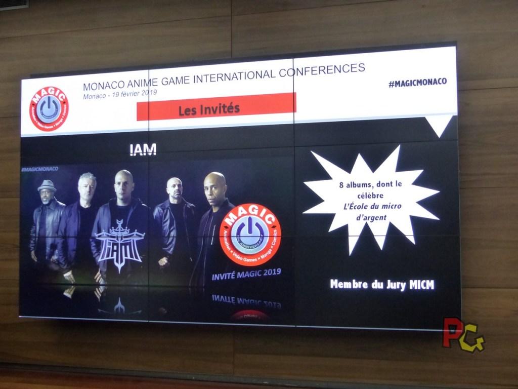 Conférence de presse 5ème MAGIC - annonce du groupe IAM