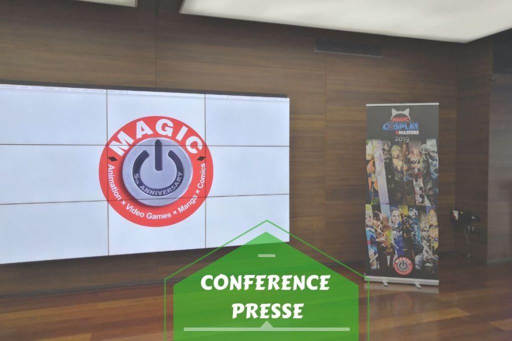 Conférence de presse 5ème MAGIC - bannière