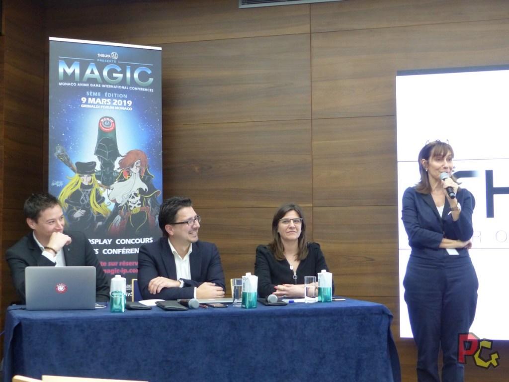 Conférence de presse 5ème MAGIC - conference de presse MAGIC