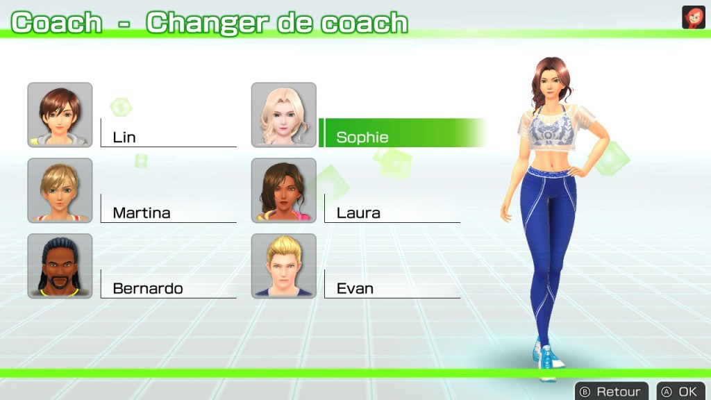 Fitness Boxing Switch - les coachs