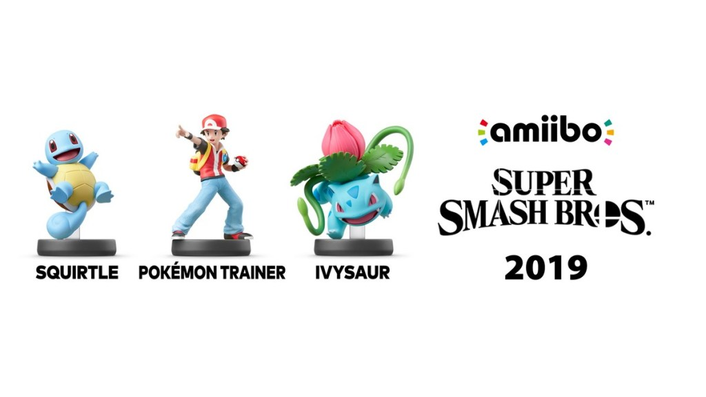 Super Smash Bros - amiibos Pokemon