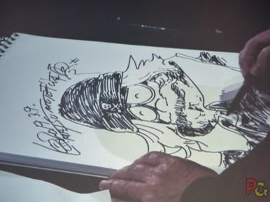 MAGIC2019 5ème anniversaire - live drawing Leiji Mastumoto