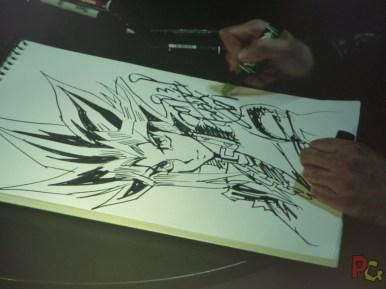 MAGIC2019 5ème anniversaire - conférence et live drawing Kazuki Takahashi
