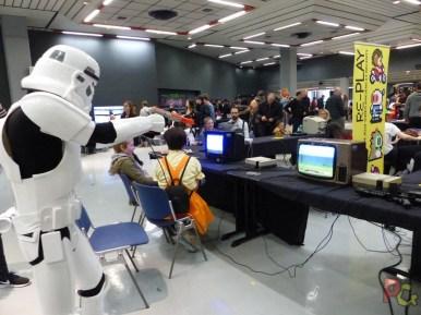 Play Azur Festival 2019 - stormtrooper sur Duck Hunt