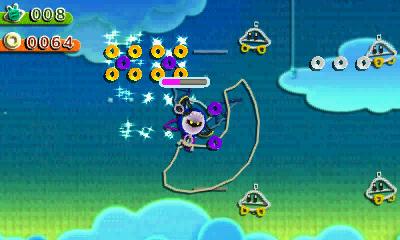 Kirby au fil de la Grande Aventure 3DS - metaknight taillade