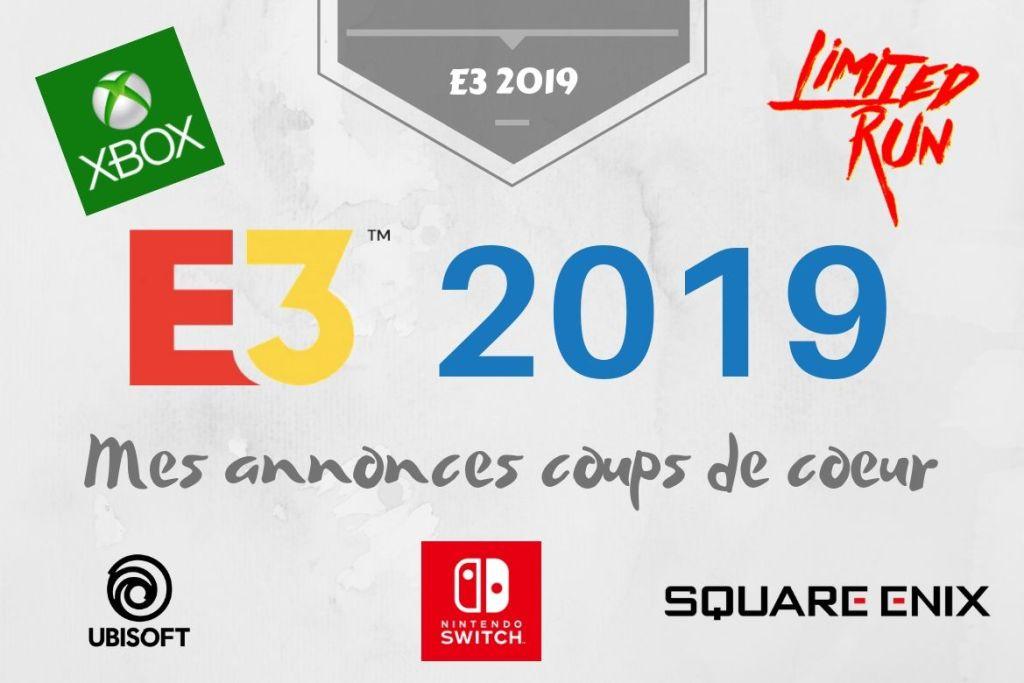 Bannière E3 2019