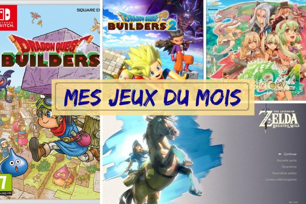 Bilan jeux Juin 2019
