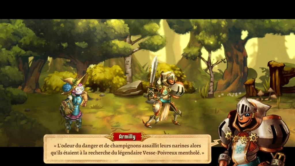 SteamWorld Quest - début de l'histoire