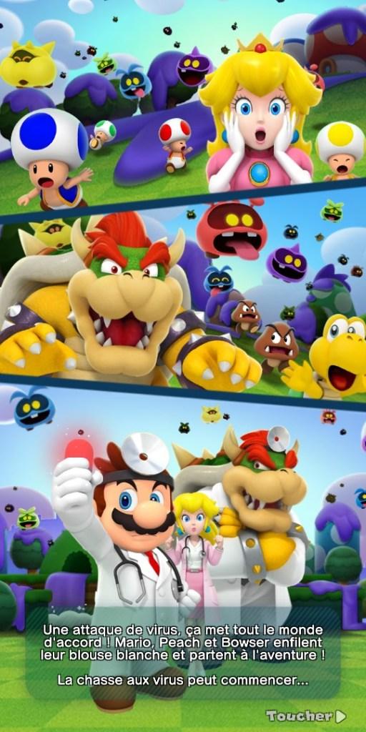 Dr Mario World - scénario avec tous