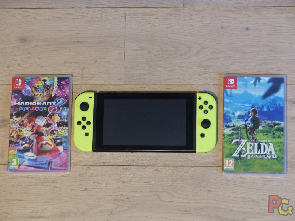 OEP Portages Switch - Zelda et Mario Kart 8 Deluxe