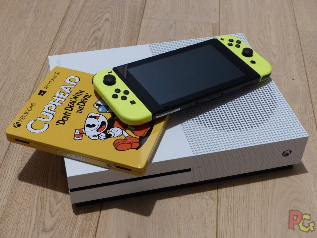 OEP Portages Switch - cuphead sur switch et xbox