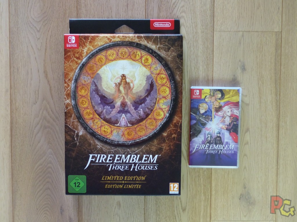 Unboxing Fire Emblem Three Houses édition limitée