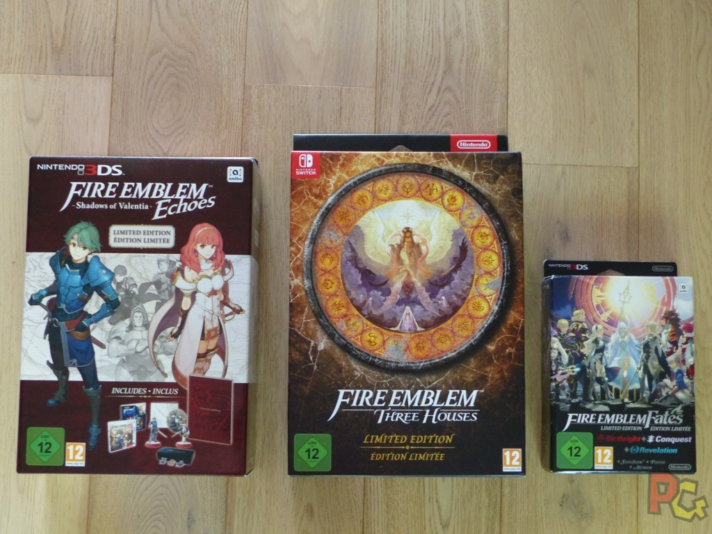 Unboxing Fire Emblem Three Houses - comparatif éditions