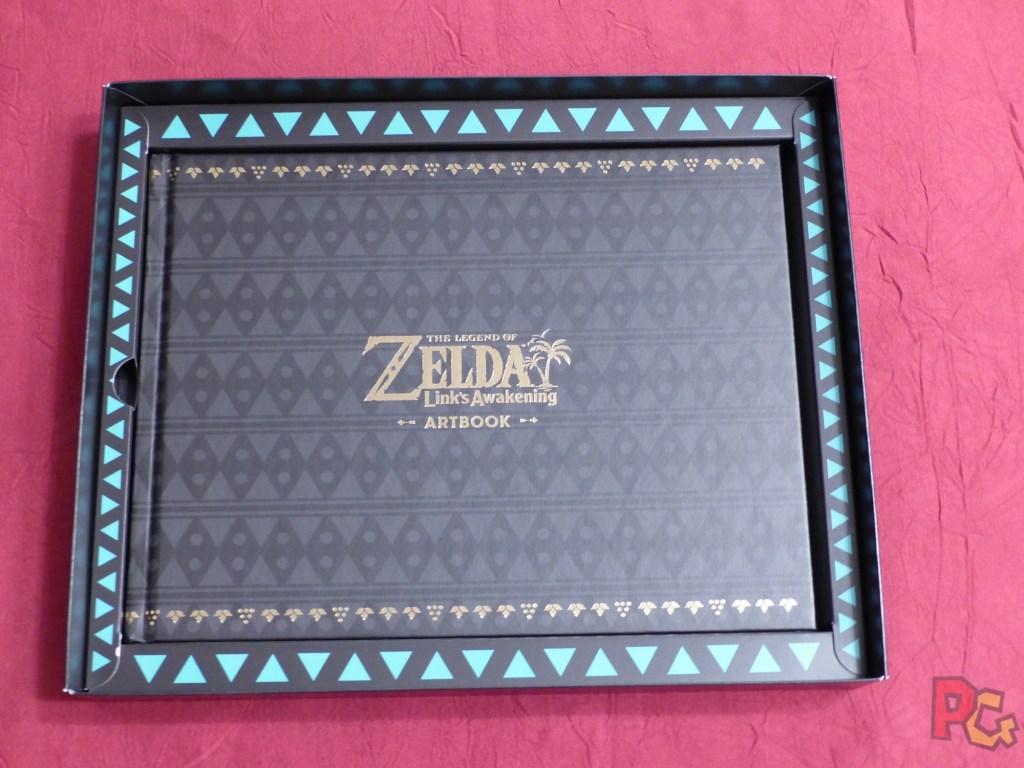 Collector Zelda Link's Awakening - artbook dans écrin