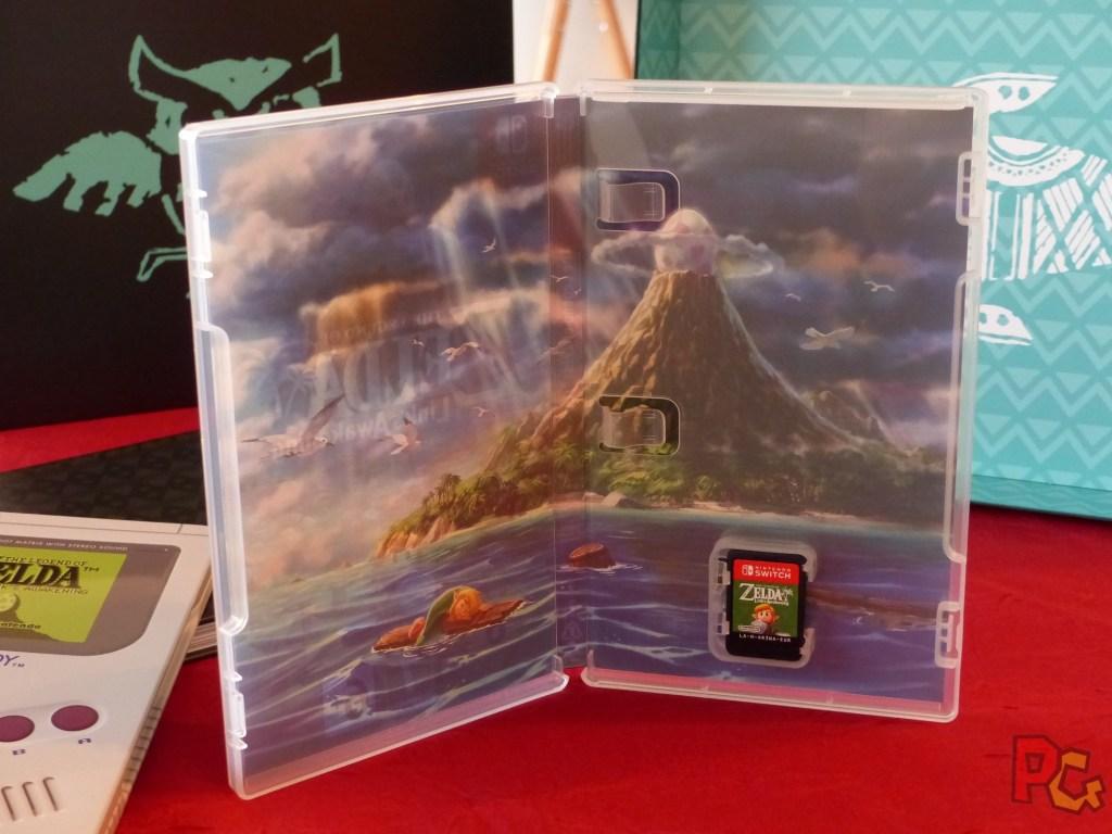 Collector Zelda Link's Awakening - boite du jeu intérieur