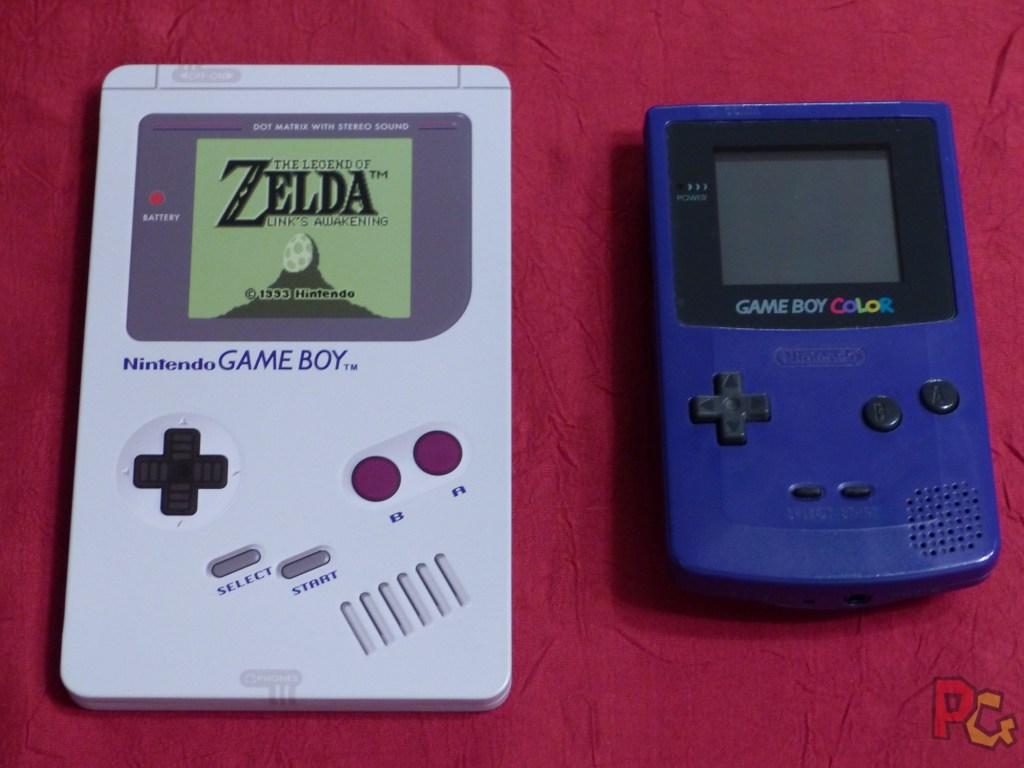 Collector Zelda Link's Awakening - comparaison steelbook gameboy et GB color