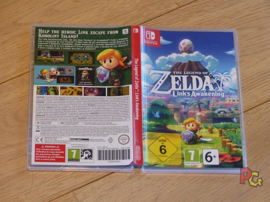 Collector Zelda Link's Awakening - jaquette du jeu