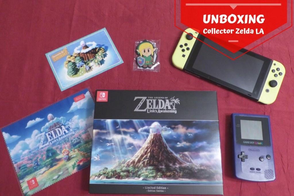 Unboxing Zelda LA