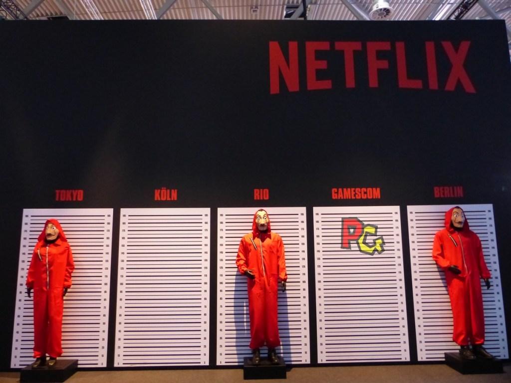 stand Netflix - Casa del Papel