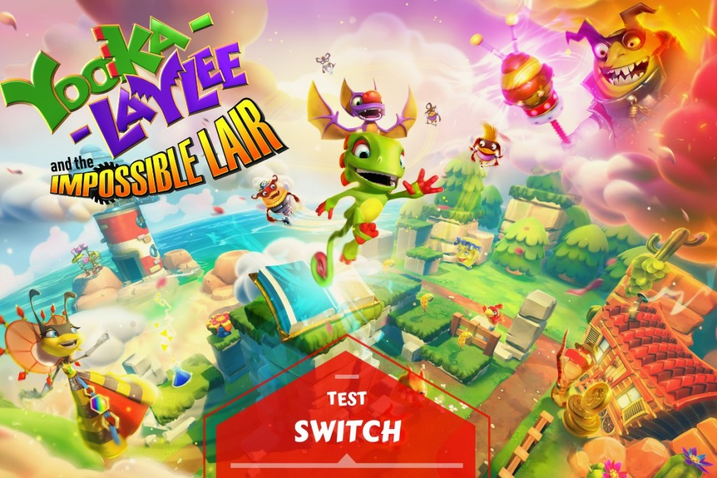 Bannière test Yooka Laylee and the impossible lair
