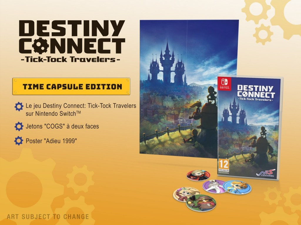 Destiny Connect Tick Tock Travelers - edition collector switch