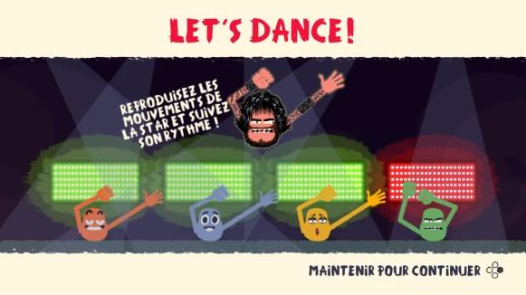 Heave-Ho - mini jeu let's dance