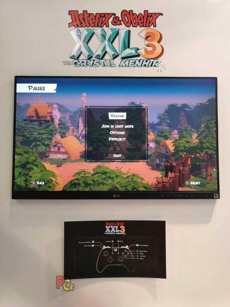 Preview Asterix XXL3 - les commandes