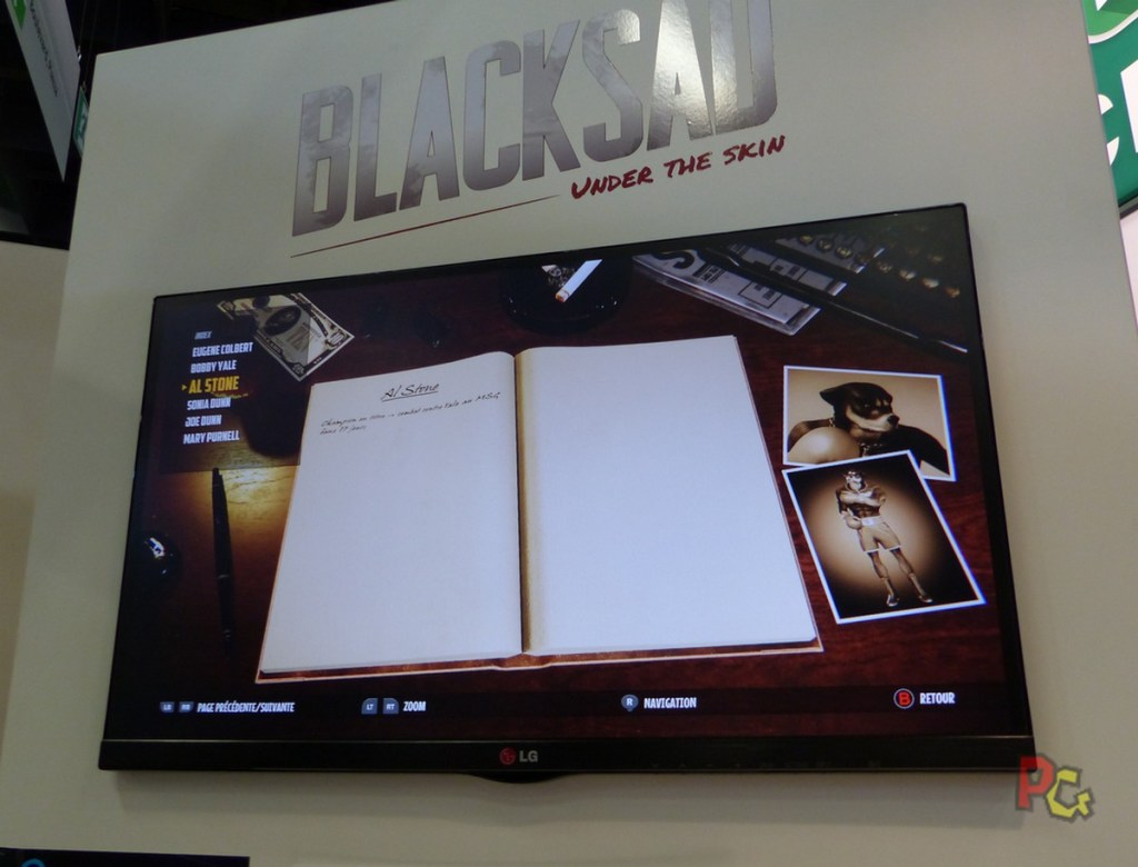 Preview Black Sad - carnet de notes