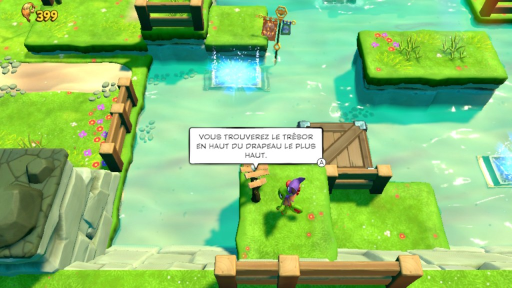 Yooka-Laylee and the Impossible Lair - monde principal secrets