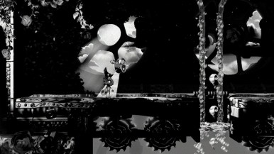 Yooka-Laylee and the Impossible Lair - niveau noir et blanc
