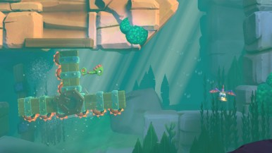 Yooka-Laylee and the Impossible Lair - niveau sous-marin