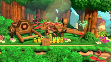 Yooka-Laylee and the Impossible Lair - premier niveau