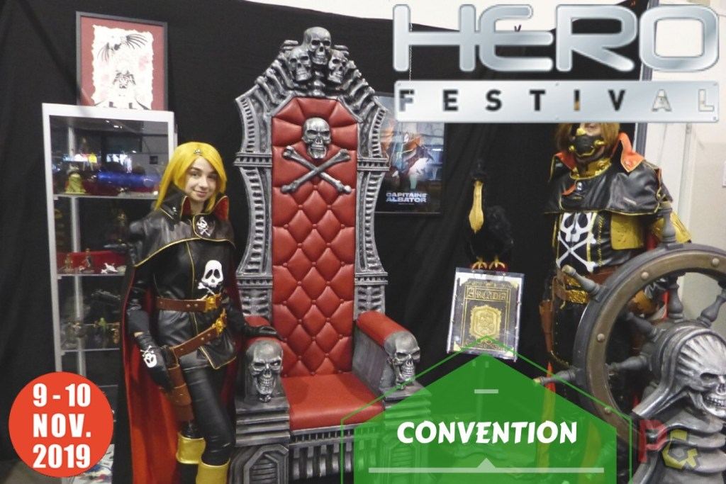 Convention - Hero Festival Marseille 2019