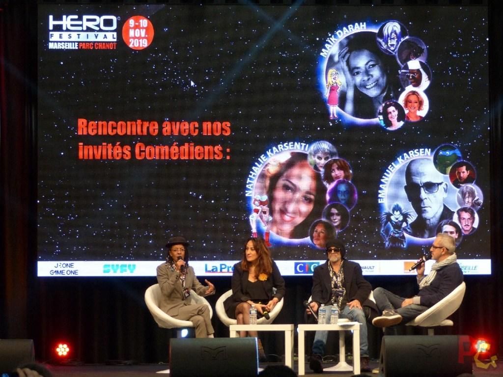 Hero Festival 2019 - conférence des doubleurs