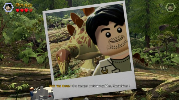 Lego Jurassic World - photo Monde Perdu
