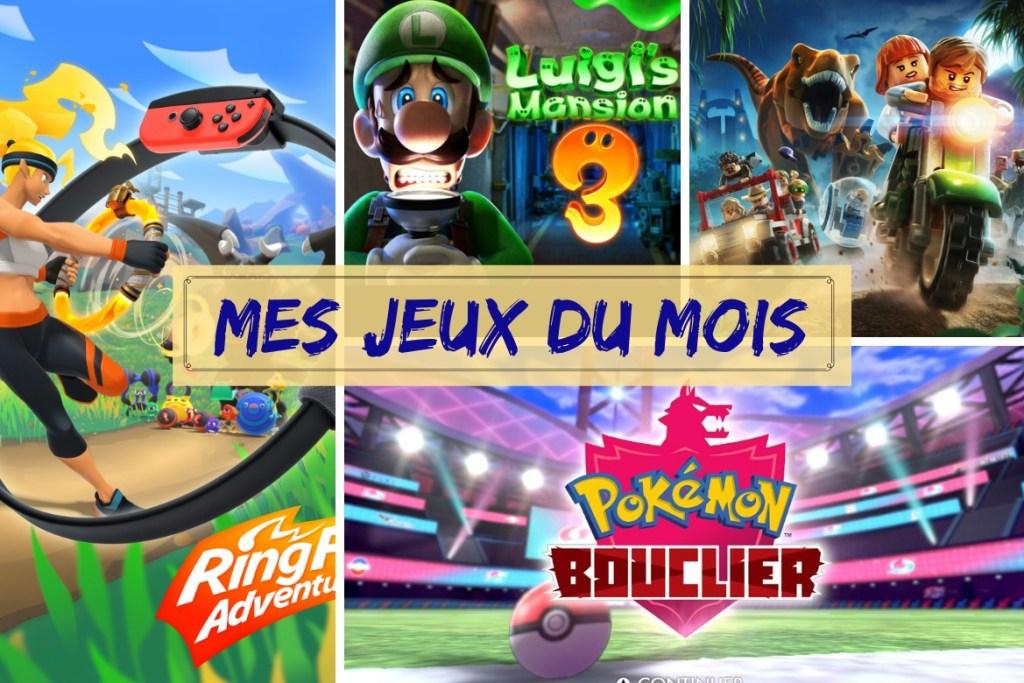 Bilan jeux novembre 2019