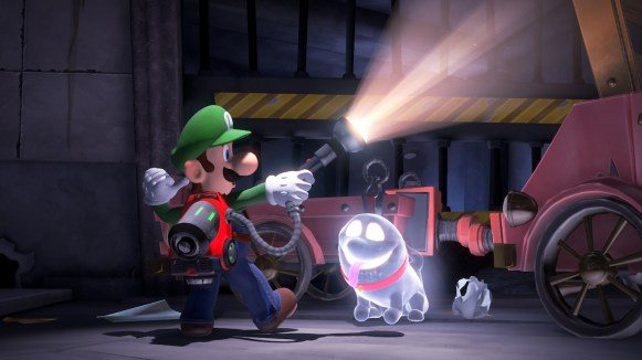 Luigis Mansion 3 - aspirateur Ectoblast GL-U
