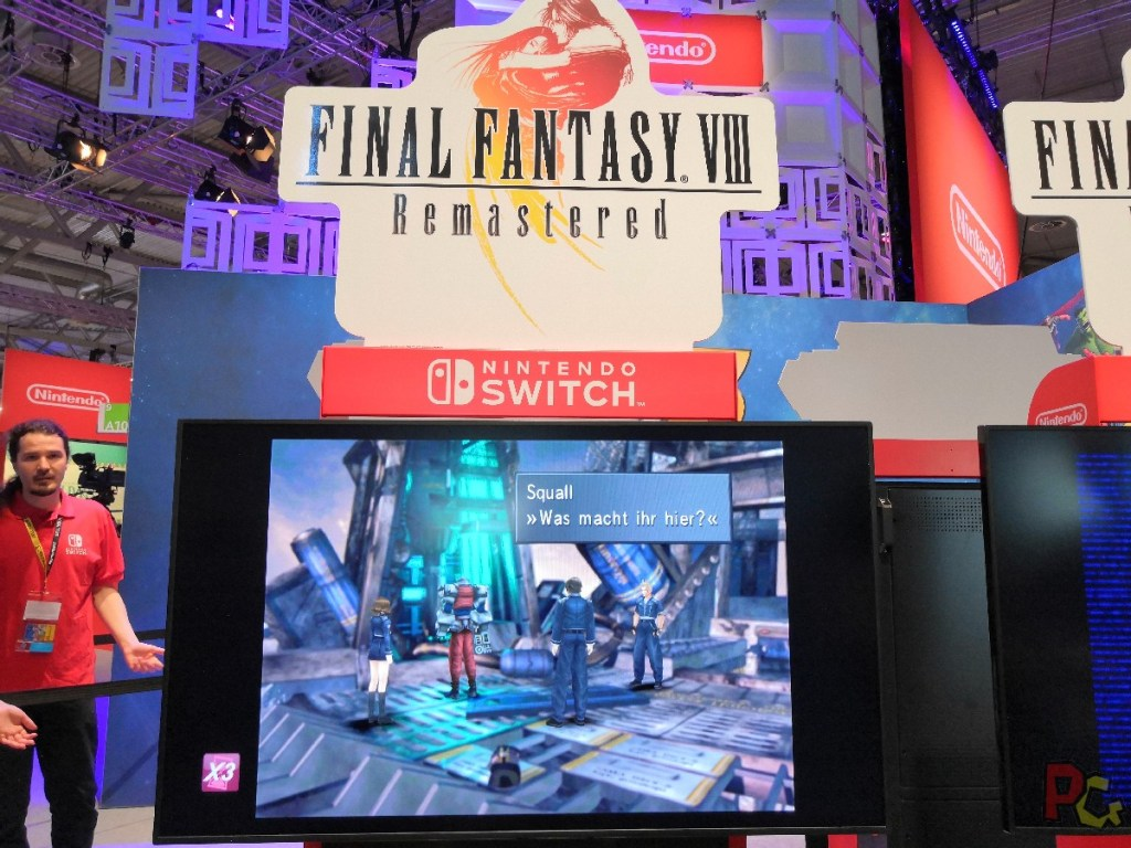 Nintendo GC2019 - FF7 remastered switch
