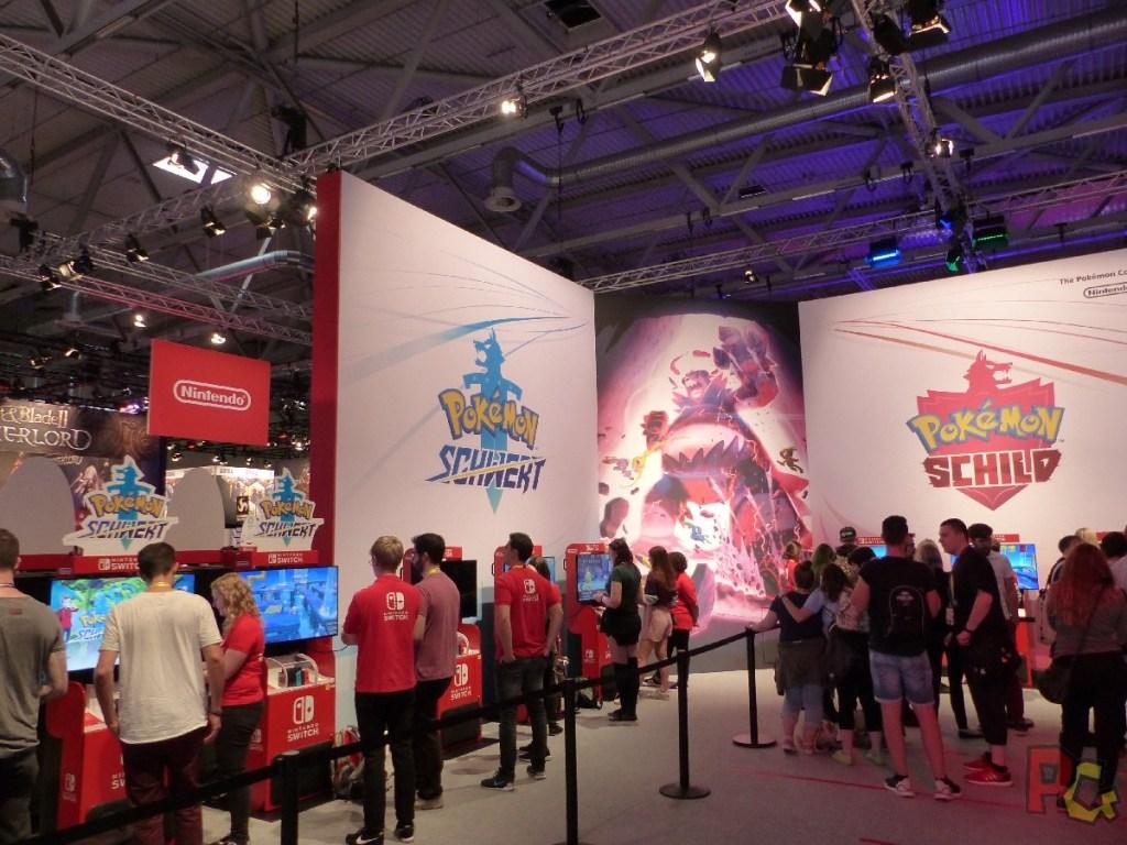 Nintendo GC2019 - stand Pokémon