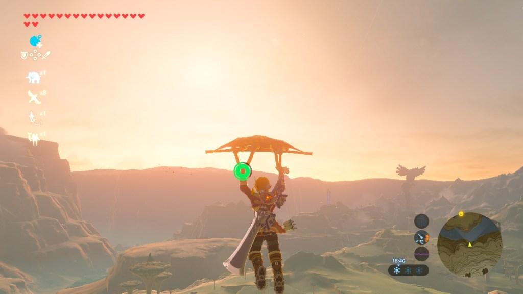 Zelda BotW - paravent