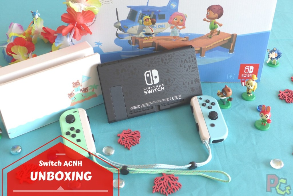 Unboxing Switch Animal Crossing New Horizons