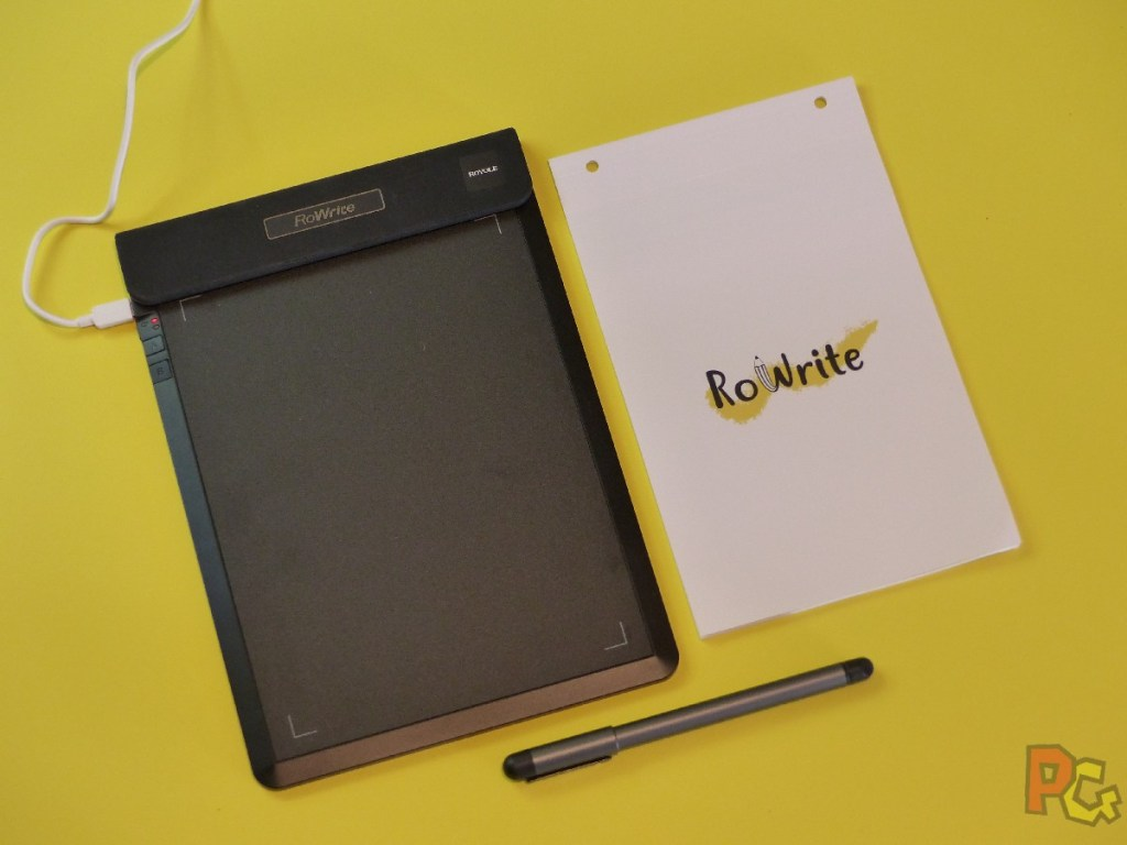 Tablette RoWrite - tablette en charge