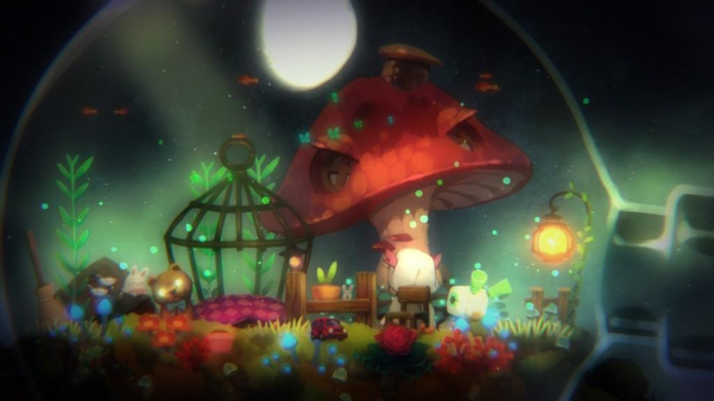 Void Terrarium - face à la lune
