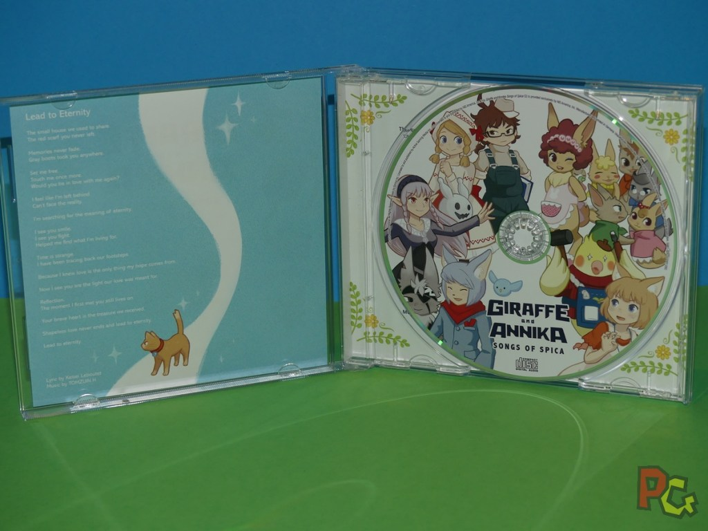 Giraffe and Annika - CD
