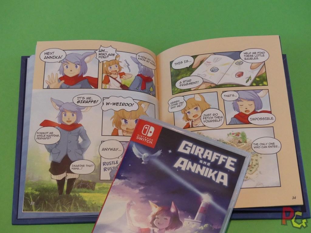 Giraffe and Annika - histoire artbook