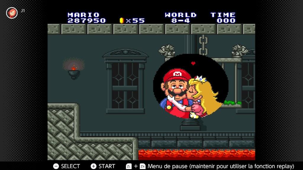 Super Mario All Stars - victoire