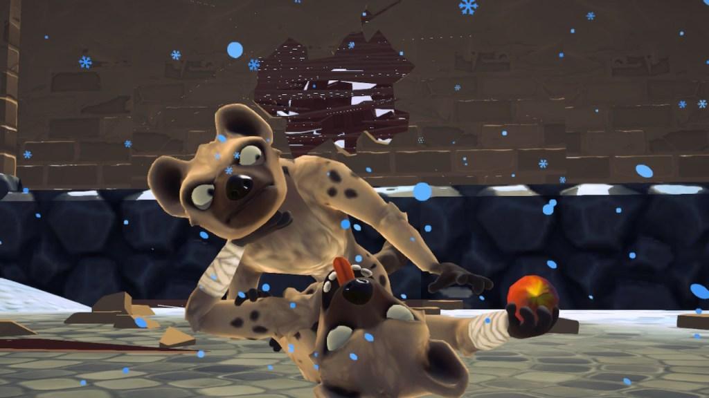 Ary - attaques hyènes
